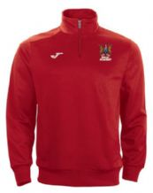 Ards FC Academy Joma Combi 1/4 Zip Sweatshirt Red Youth (Players)